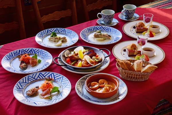 本格スペイン料理を贅沢に楽しめるお店