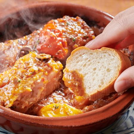 静岡地鶏のチリンドロンソース