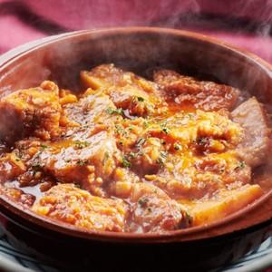 カジキマグロとポテトのスペイン煮込み